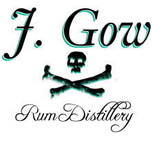 j gow rum distillery logo medium